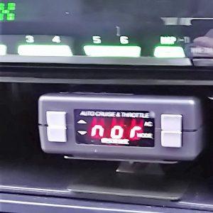 レガシぃ ボディーコーティングと持ち込みナビバックカメラスロットルコントローラ-取付け