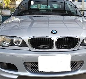 BMW E46クーペ ヘッドライトレンズリフレッシュ