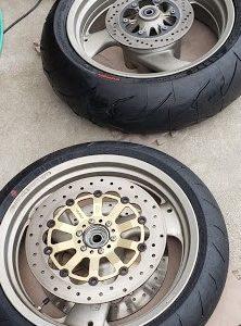 持ち込み タイヤ2輪用交換