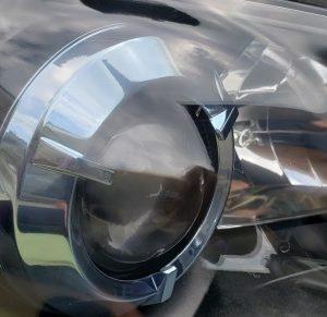 ヘッドライトリフレッシュ レガシィBP5